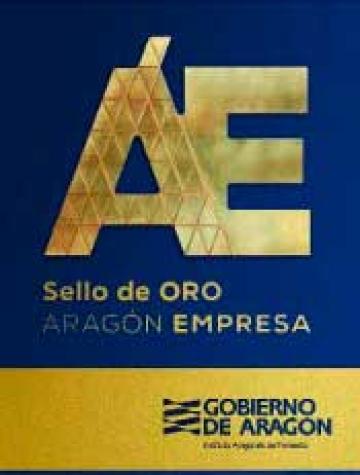 Sello de Oro Aragón Empresa y Responsabilidad social de Aragón